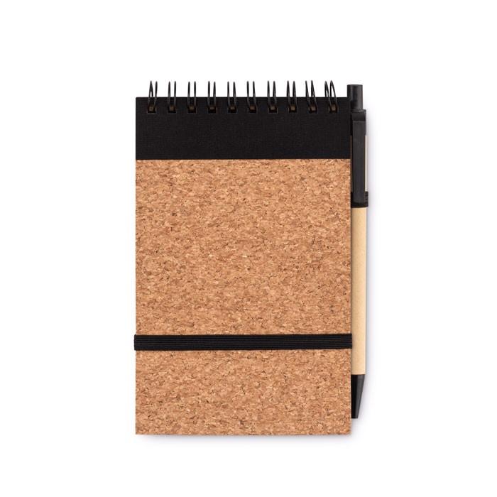 DIN A6 Notizbuch mit Kork Sonoracork