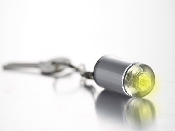 ABS key holder with light