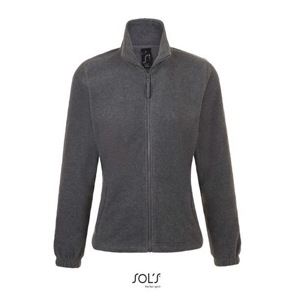 NORTH-CHAQUETA PL MUJER300 North Women - gris jaspeado / XXL