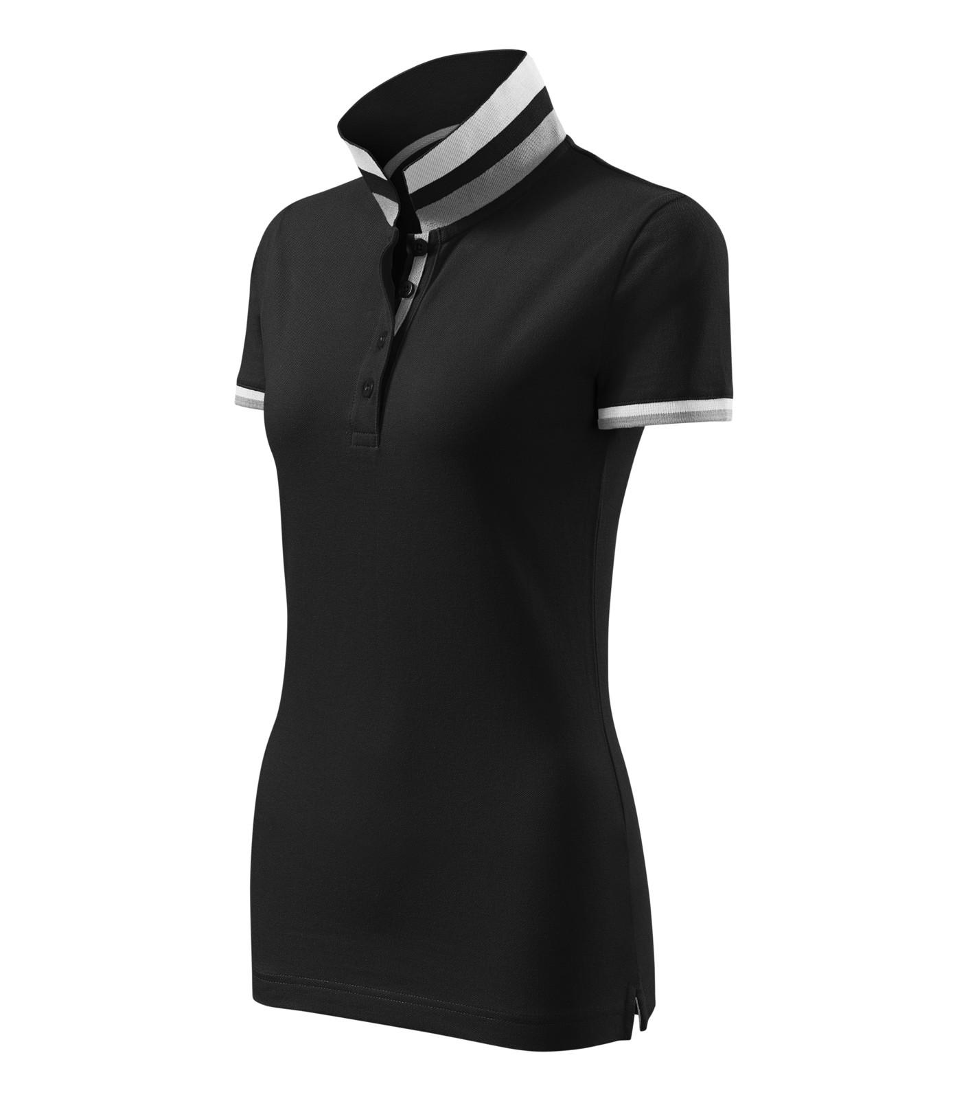 Polokošile dámská Malfinipremium Collar Up - Černá / S