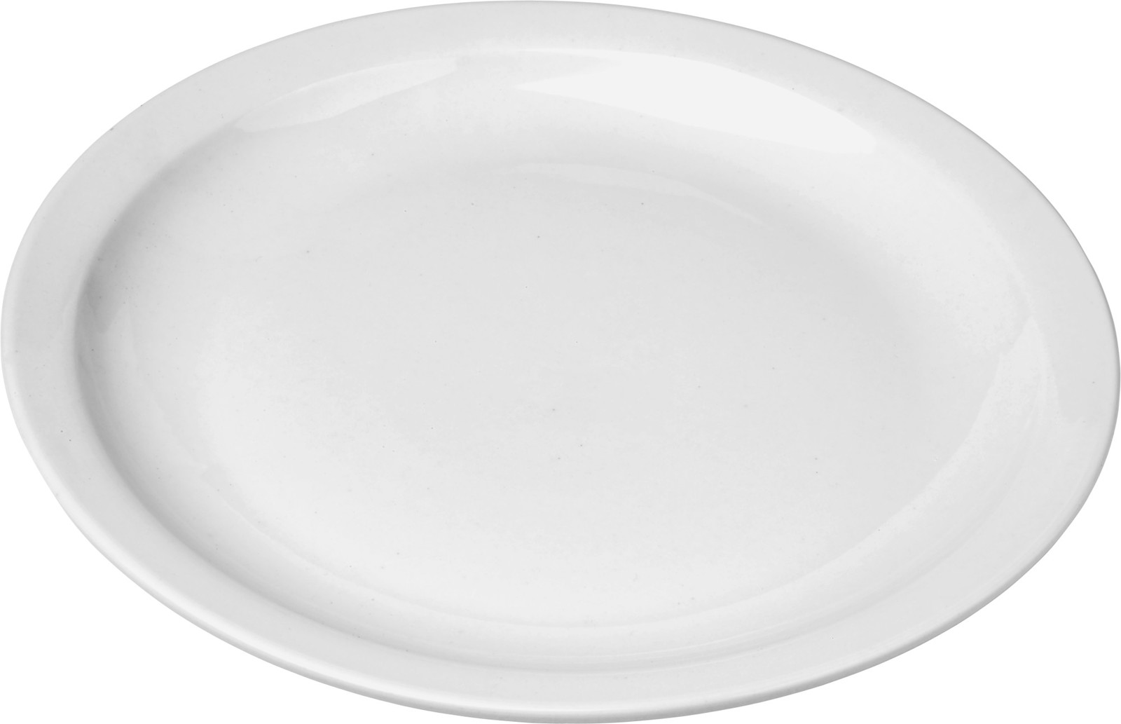 Porcelain plate with a diameter of 30 cm