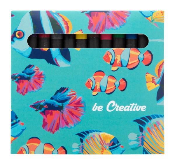 Custom 12 Pc Crayon Set Craxon 12 - Multicolour