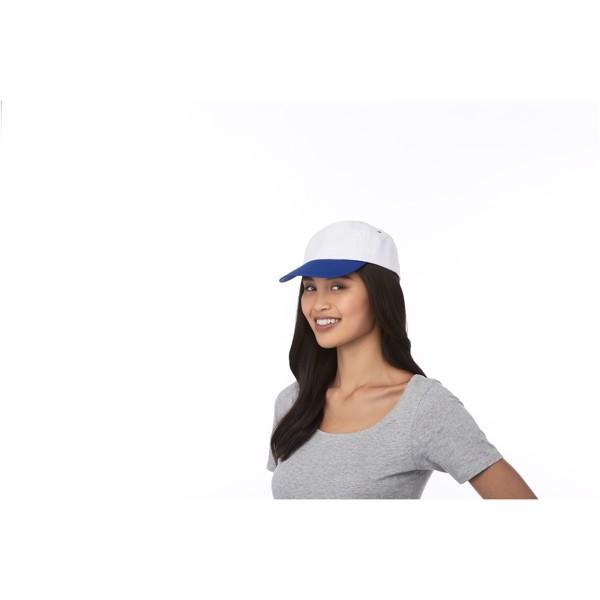 Icarus 5 panel duotone cap - Magenta / White
