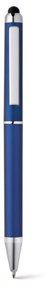 ESLA. Ball pen with metal clip - Royal Blue