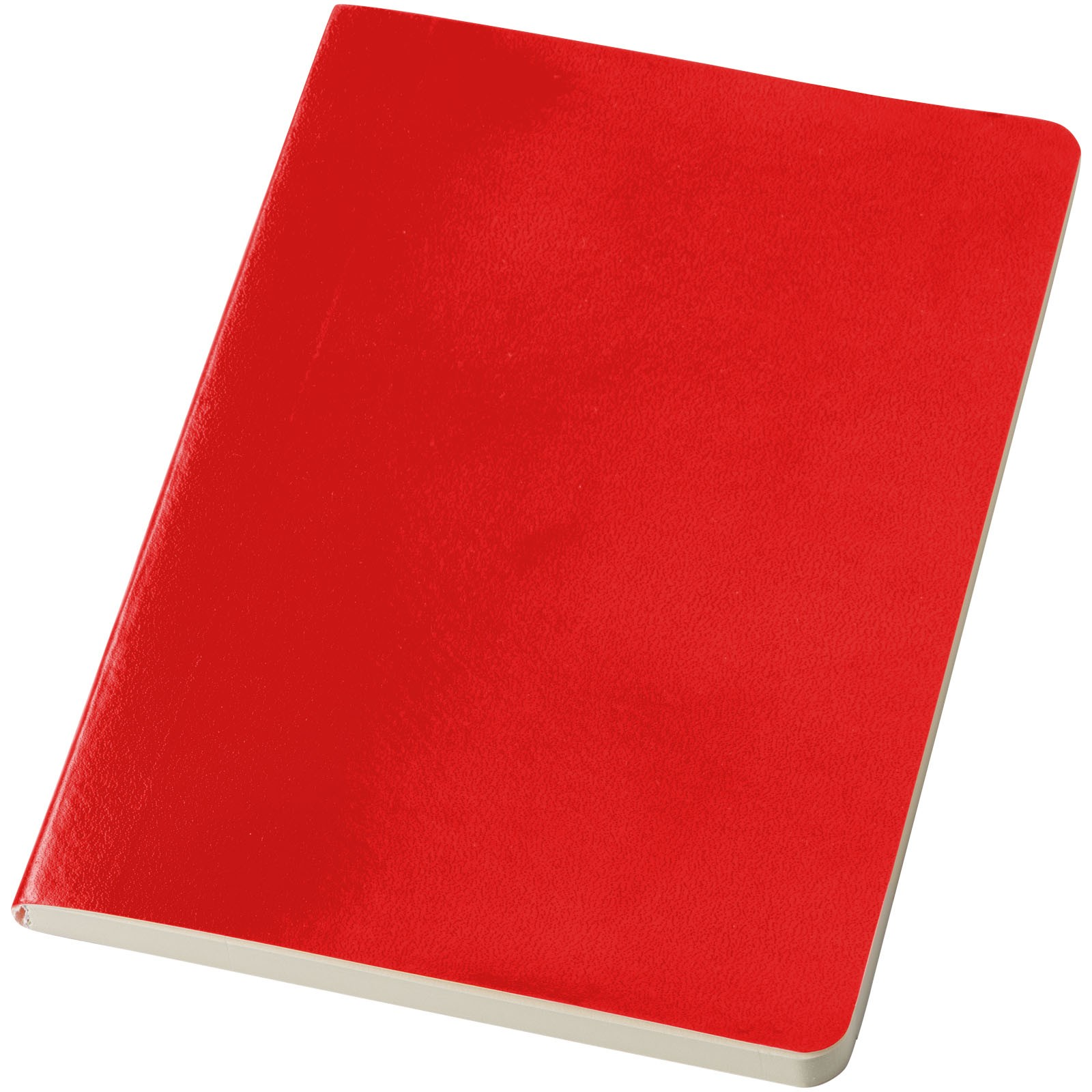 Zápisník s měkkou obálkou A5 Gallery - Červená s efektem námrazy