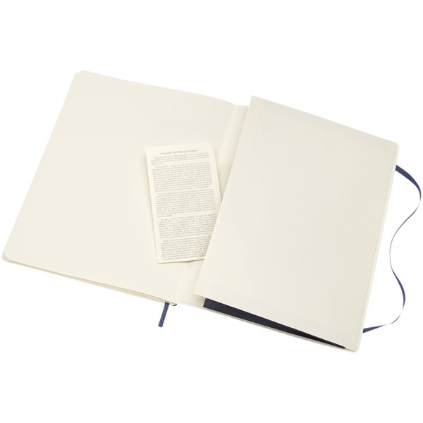 Classic XL soft cover notebook - dotted - Sapphire blue
