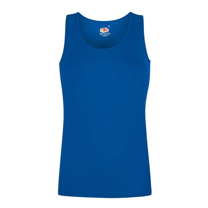 Damen T-Shirt Sport Lady-Fit Vest 61-418-0 - Royal / M