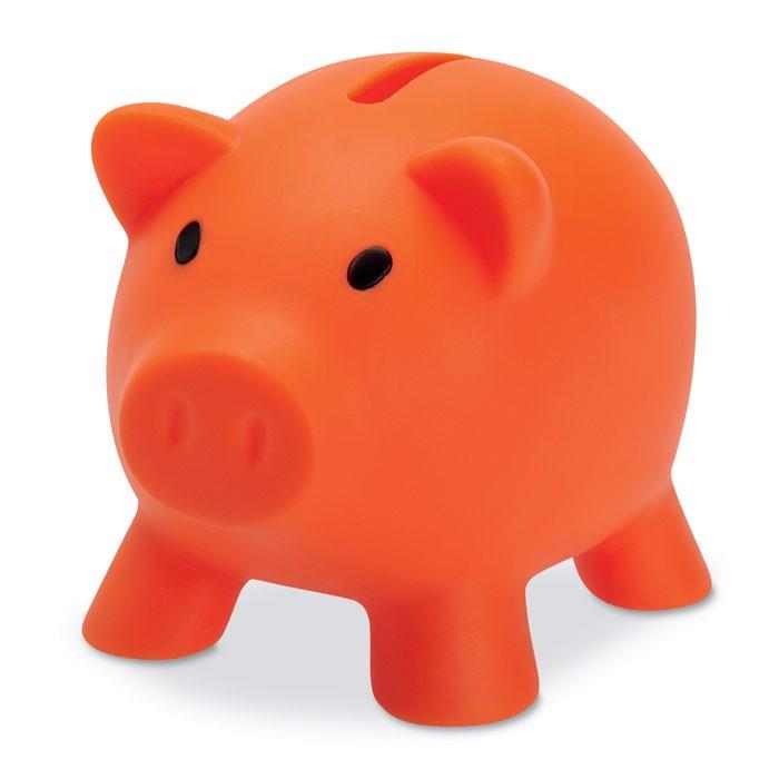 Piggy bank Softco - Orange