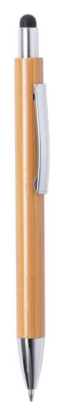 Bambusové Dotykové A Kuličkové Pero Zharu - Přírodní