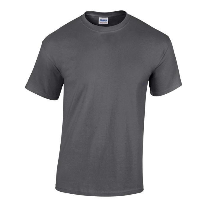 Tlusté tričko 185 g/m² Heavy T-Shirt 5000 - Dark Heather / L