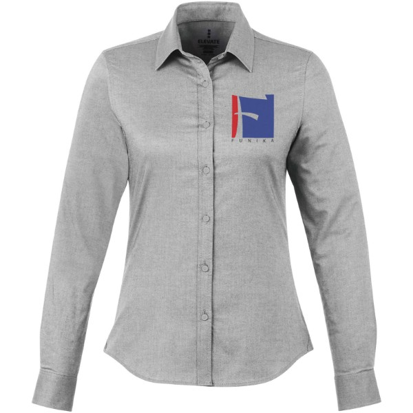 Vaillant long sleeve ladies shirt - Steel grey / XXL