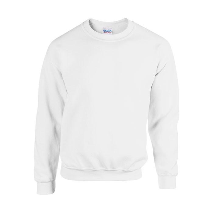 Unisex Bluza 255/270 g/m2 Heavy Blend Sweat 18000 - Biały / XXL