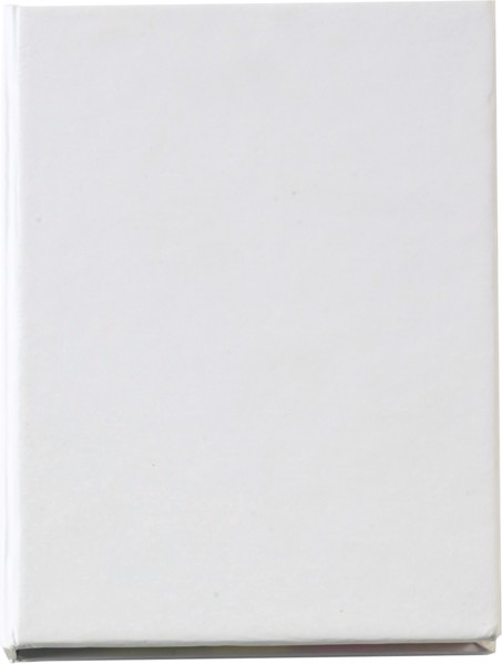 Haftnotizen 'Hurrikan' aus Karton - White