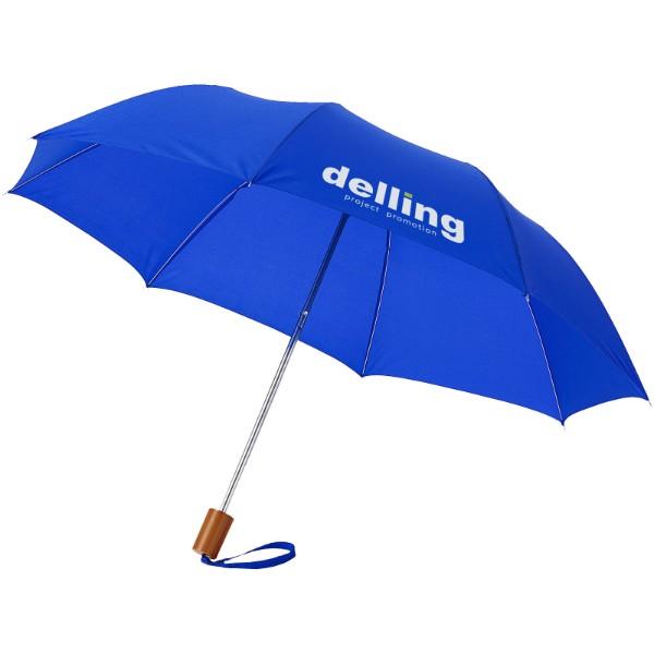 """20"""" skládací deštník Oho - Světle modrá"""