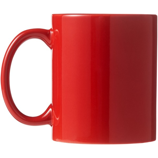 Santos 330 ml Keramiktasse - Rot