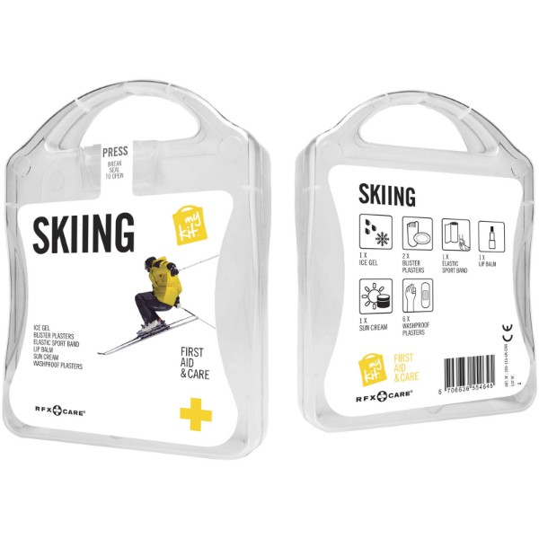 MyKit Skiing first aid kit - White