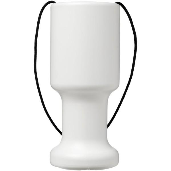 Příruční plastová schránka pro charitu Asra - Bílá