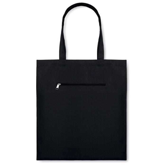 Płócienna torba na zakupy Moura - czarny
