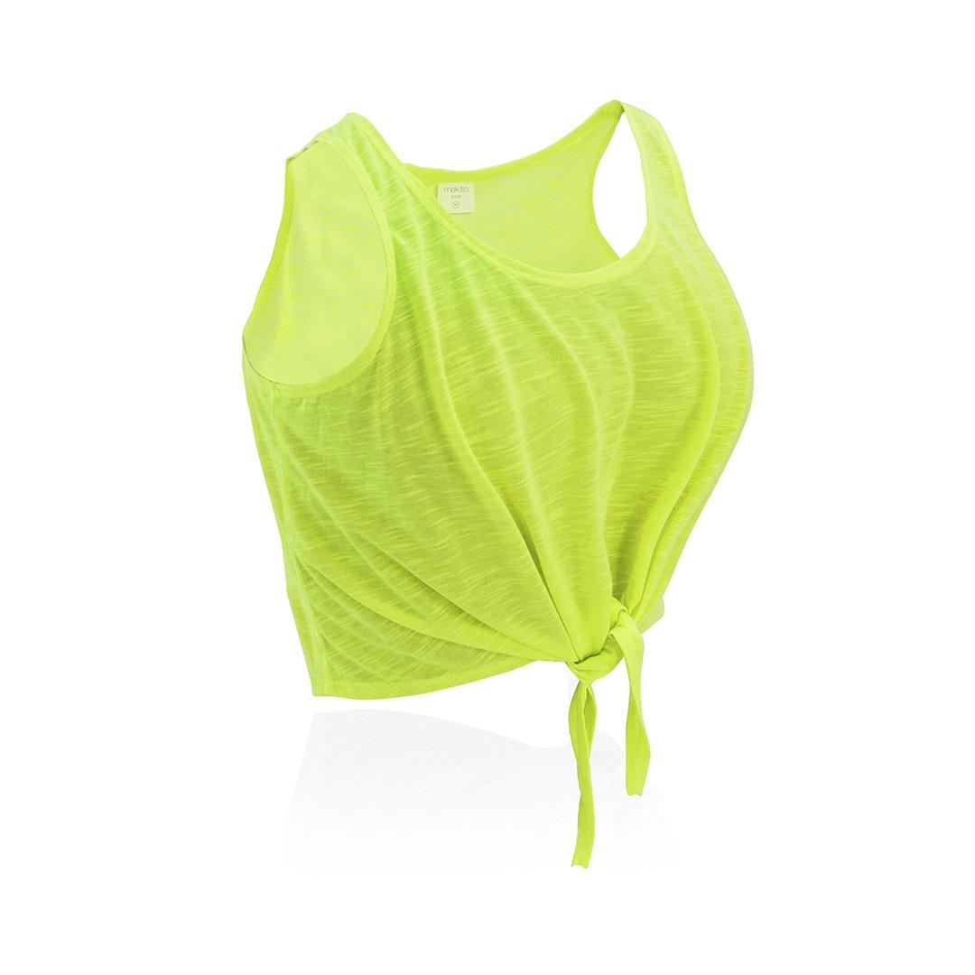 T-Shirt Mulher Slem - Amarelo Fluor / M