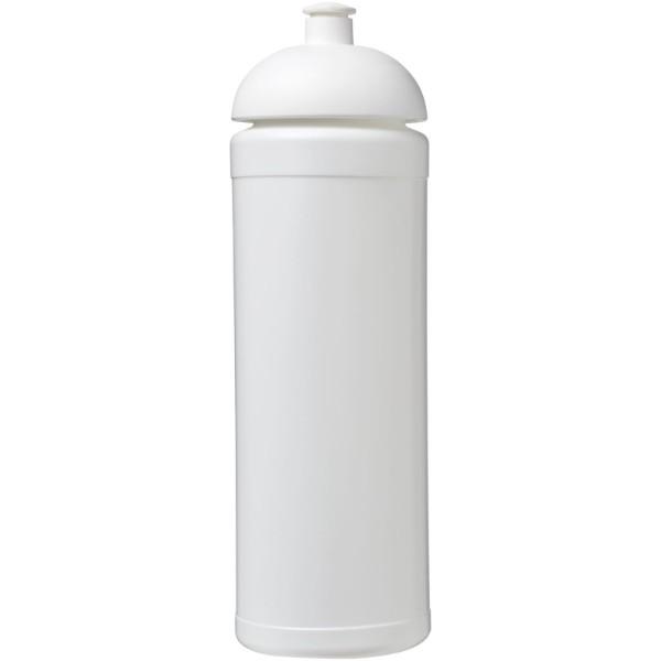 Sportovní láhev s kupolovitým víčkem Baseline® Plus grip 750 ml - Bílá