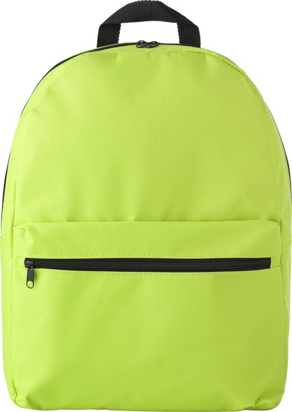 """Rucksack aus Polyester """"Small"""" (600D) - Lime"""