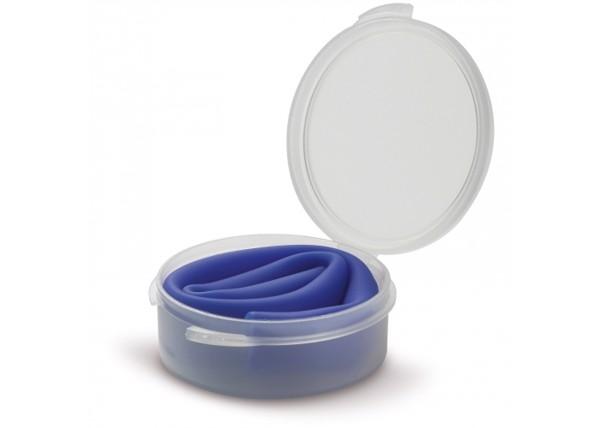 Reusable silicone straw in box - Dark Blue