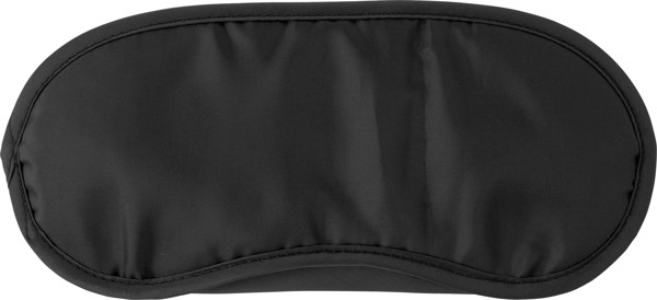 Nylon (190T) eye mask - Black