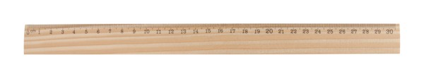 Pine Wood Ruler ThreeO - Natural