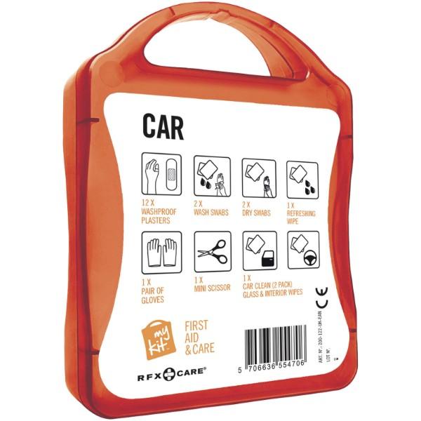 Auto lékárnička - Červená s efektem námrazy