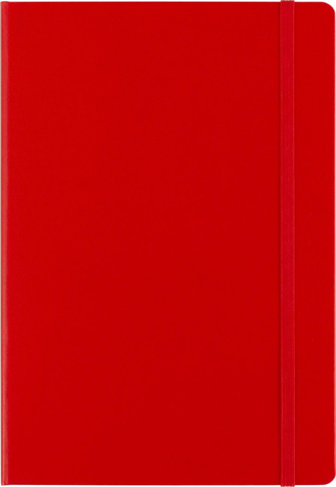 Cardboard notebook - Red