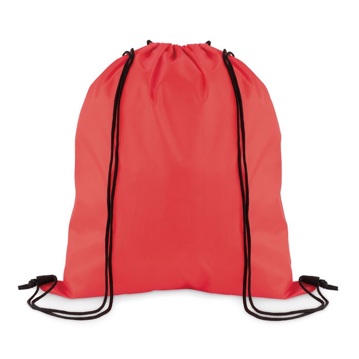 Stahovací batoh z polyesteru Simple Shoop - red