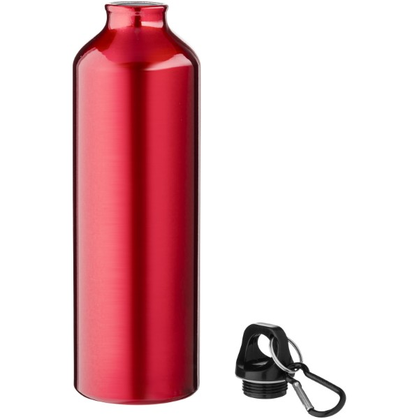 Láhev s karabinou Pacific - Červená s efektem námrazy