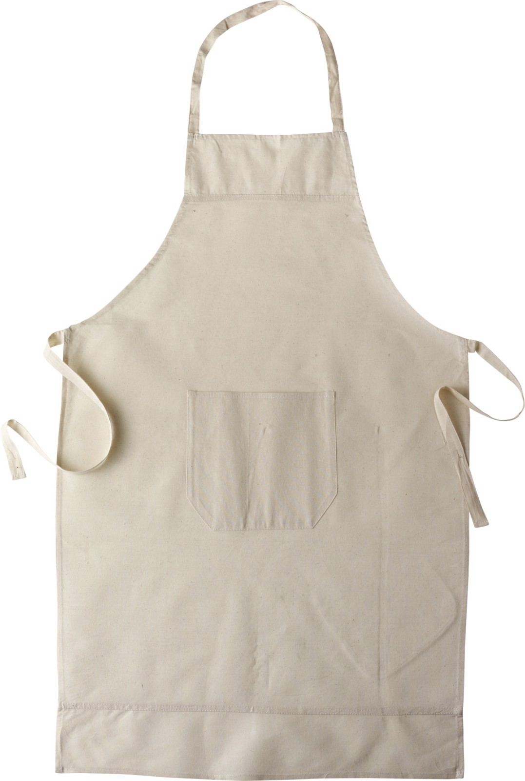 Cotton (145 gr/m²) apron - Khaki