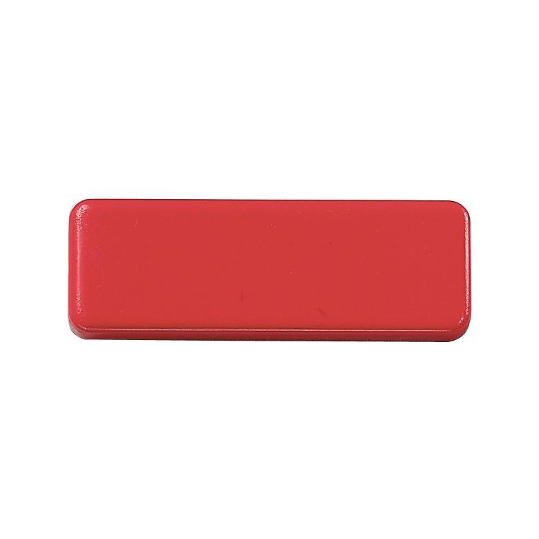 """Magnet """"Oblong Mini"""" - Standard-Red"""