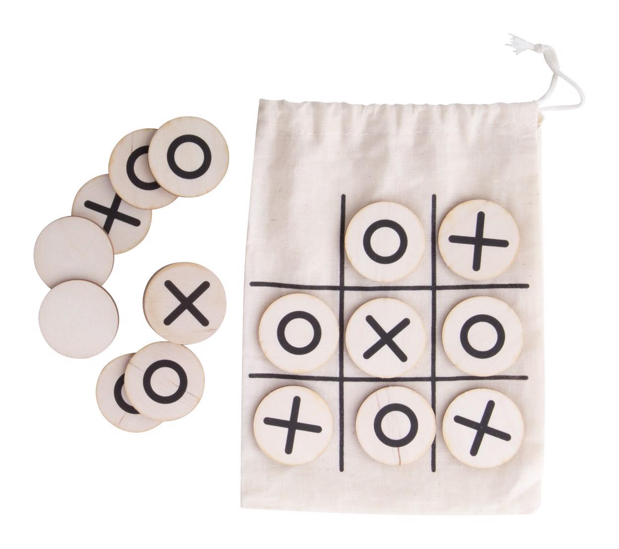 Igra tri v vrsto OXO - Natural