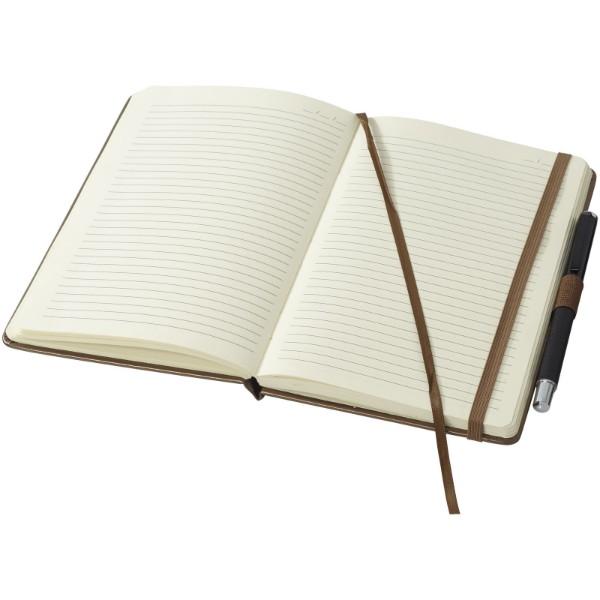 Zápisník s pevnou obálkou A5 Vignette - Hnědý