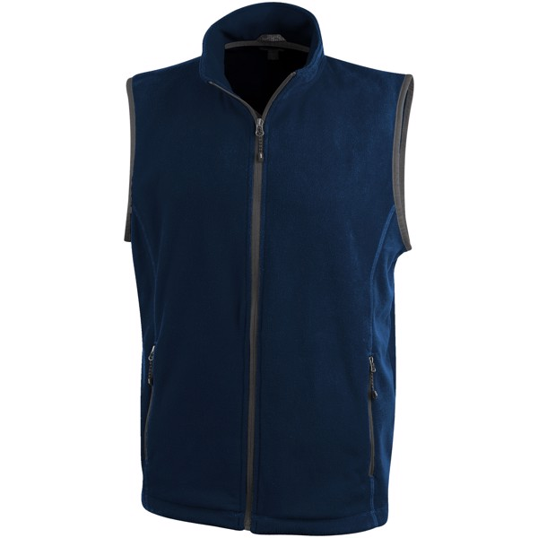 Tyndall micro fleece bodywarmer - Navy / L