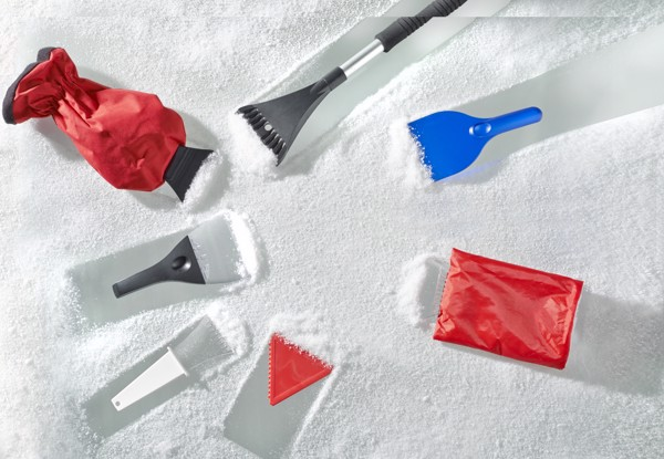 PP Ice scraper - Blue
