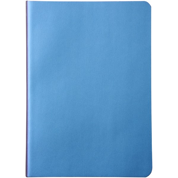 Chameleon medium size notebook - Blue