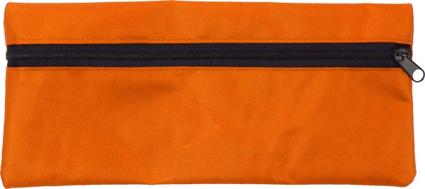 Nylon (420D) pencil case - Orange