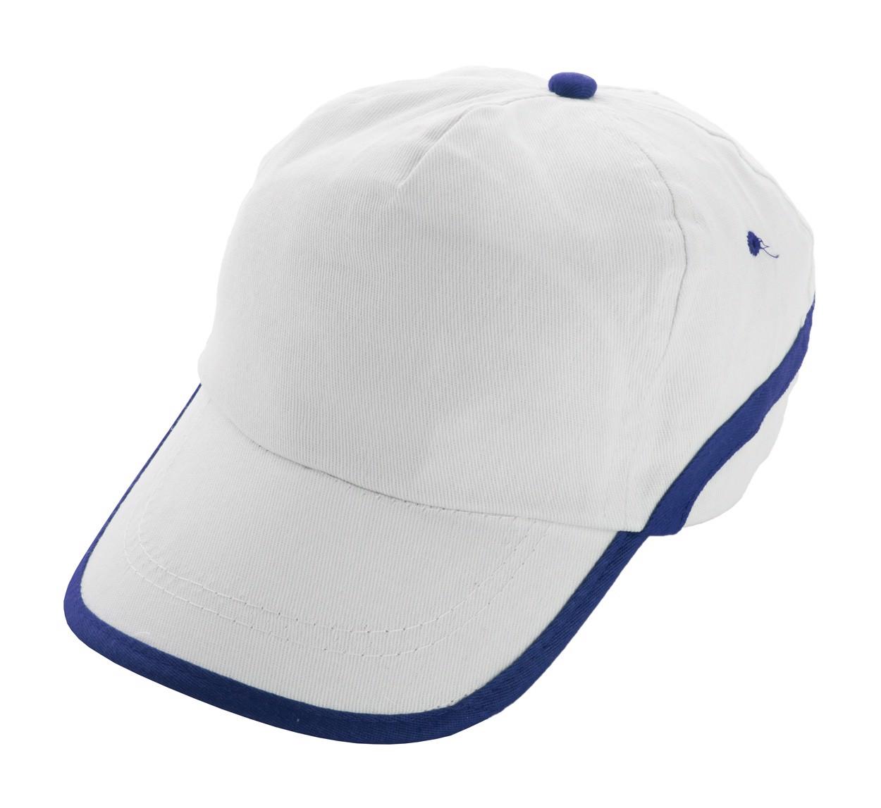 Baseballová Čepice Line - Bílá / Modrá