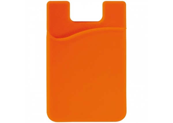 3M phone card holder - Orange