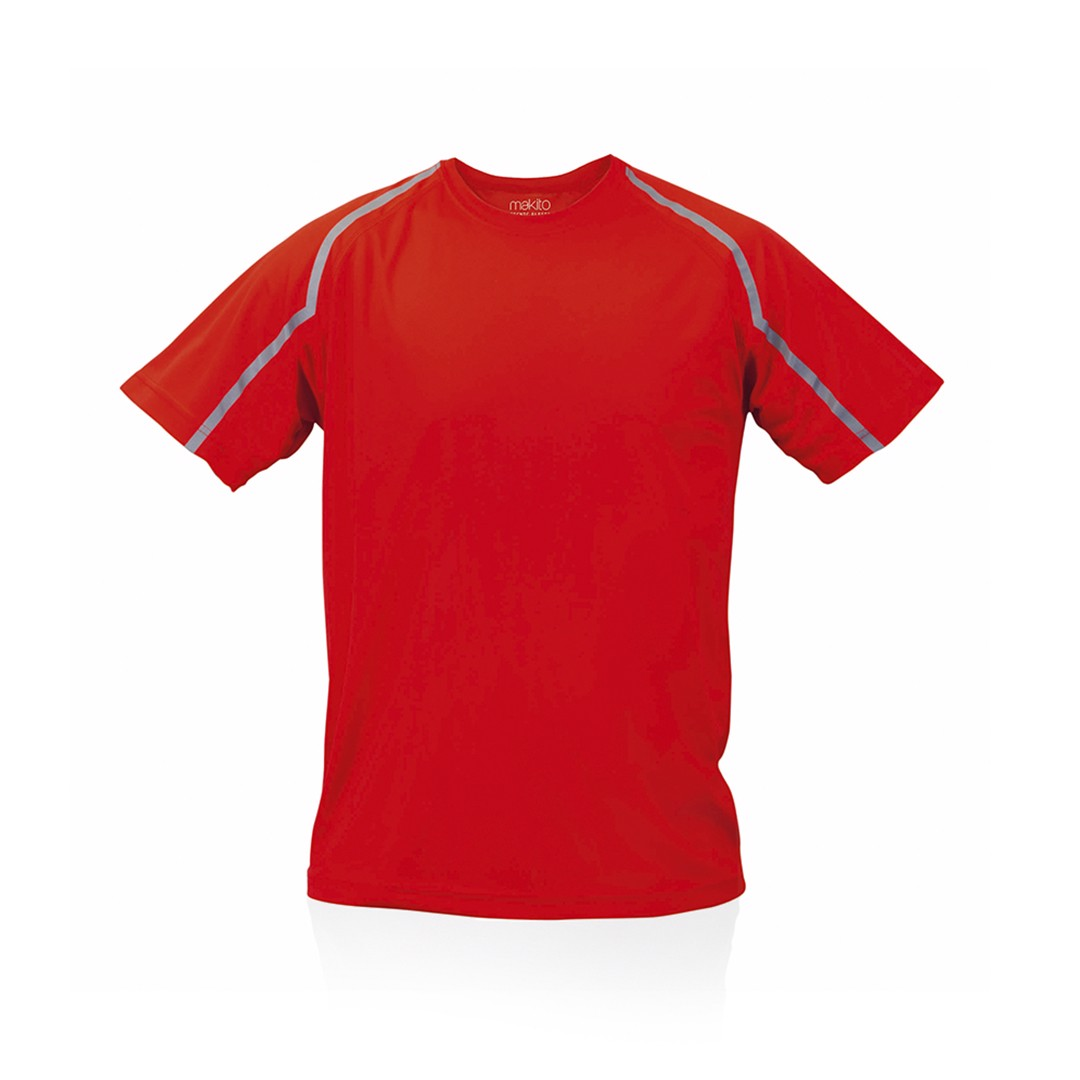 Camiseta Adulto Tecnic Fleser - Rojo / S