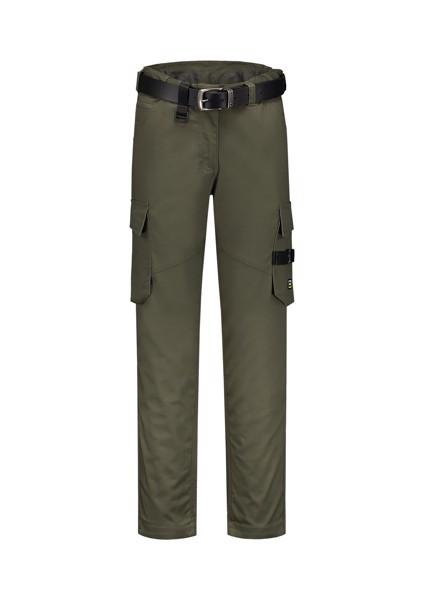Pracovní kalhoty dámské Tricorp Work Pants Twill Women - Army / 38