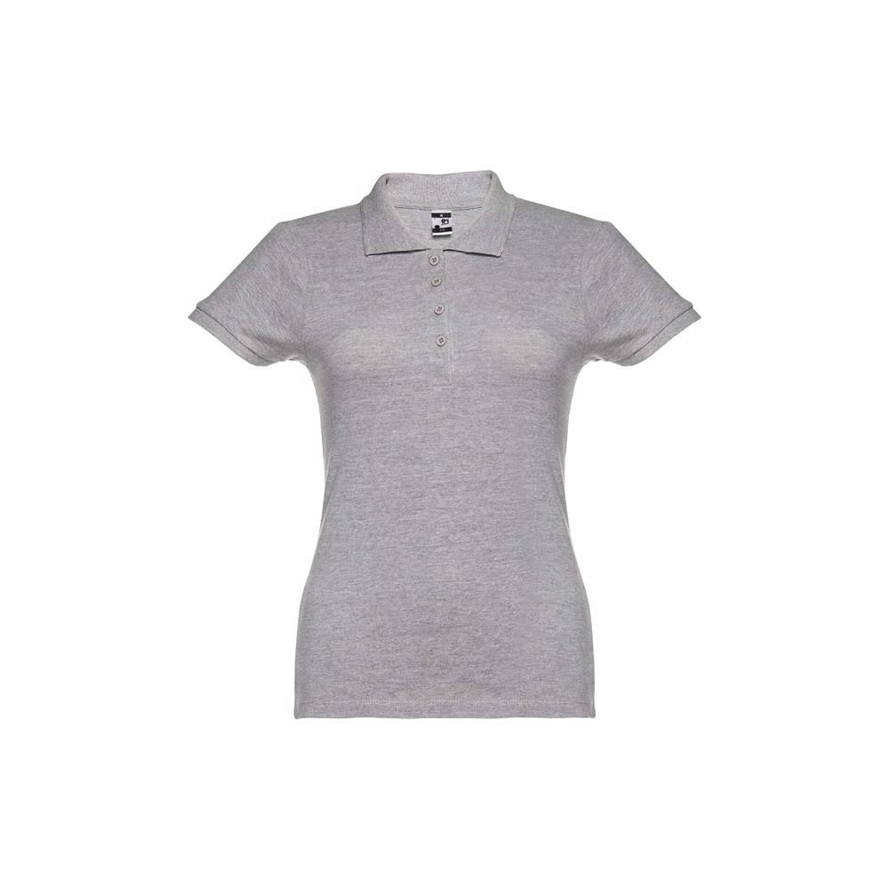 EVE. Γυναικεία πόλο μπλούζα - Ανοιχτό Γκρι Heather / S