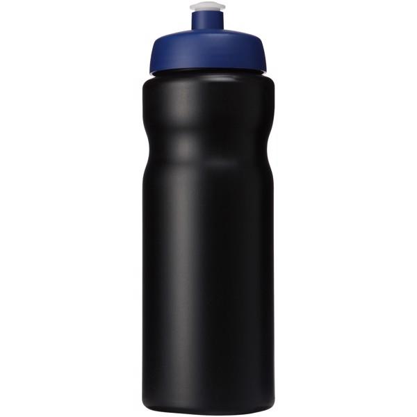 Baseline® Plus 650 ml sportovní lahev - Černá / Modrá