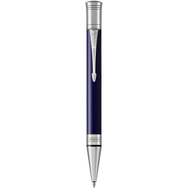 Kuličkové pero Duofold Premium - Modrá / Stříbrný