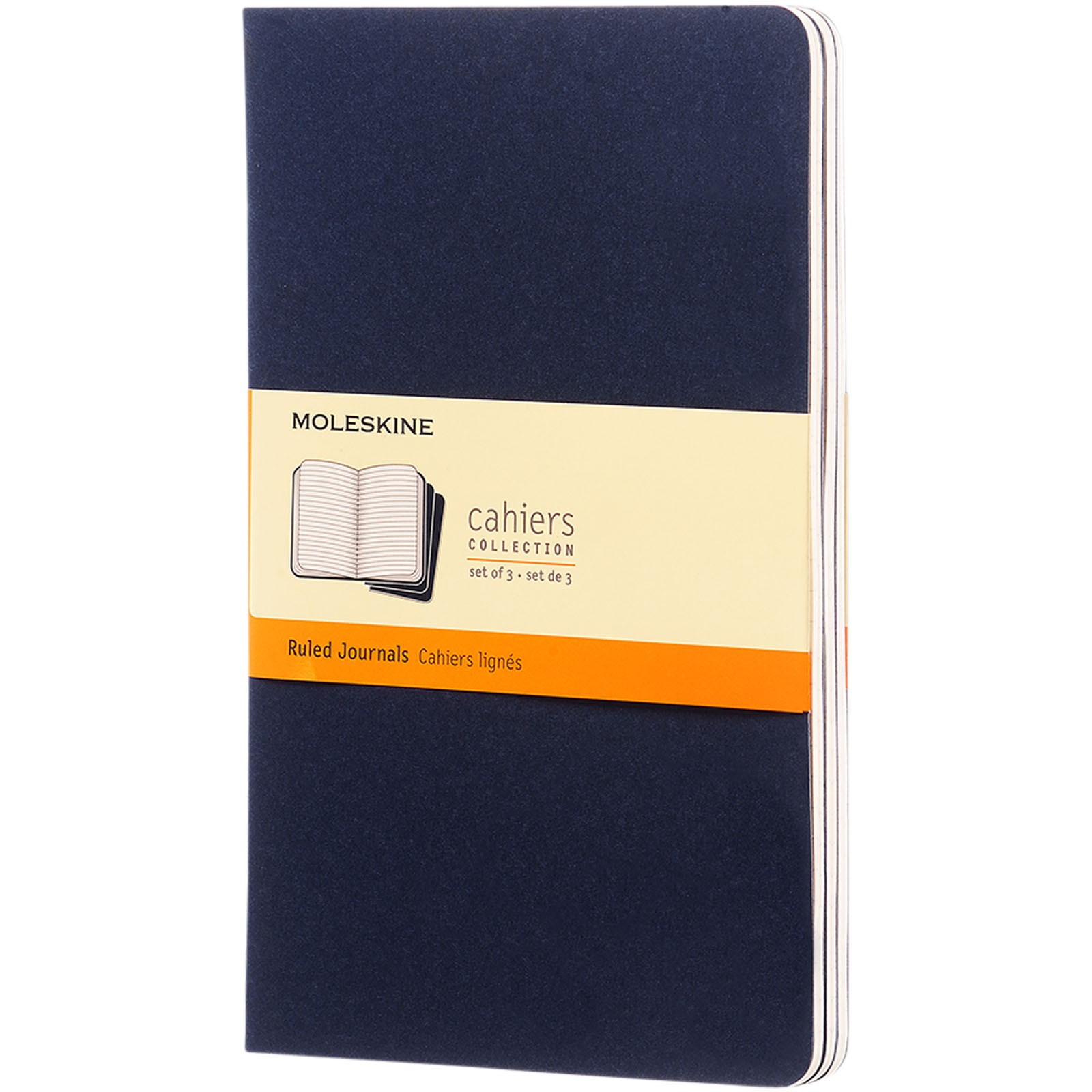 Cahier Journal L - ruled - Indigo blue