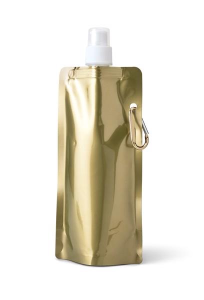 GILDED. Skládací láhev - Saténově Zlatá