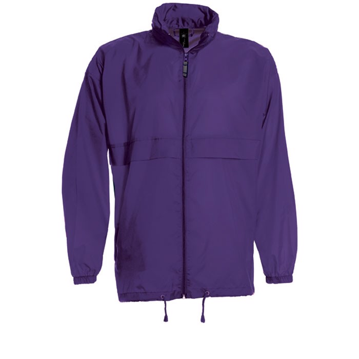 Herren Windbreaker 70 g/m2 Windbreaker Sirocco Ju800 - Purple / S